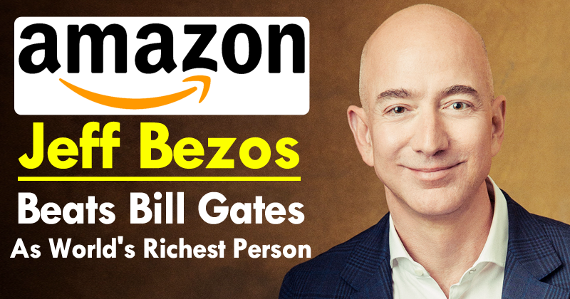 EASTER SCIENCE Amazon Founder and CEO Jeff Bezos has become the richest ma