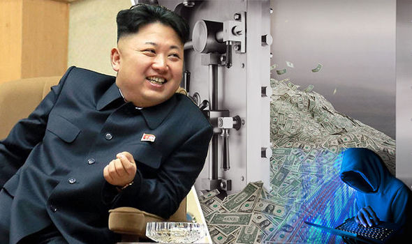 Daily Express Kim Jong-un 'may have masterminded one of the BIGGEST bank h How North korea Makes Money