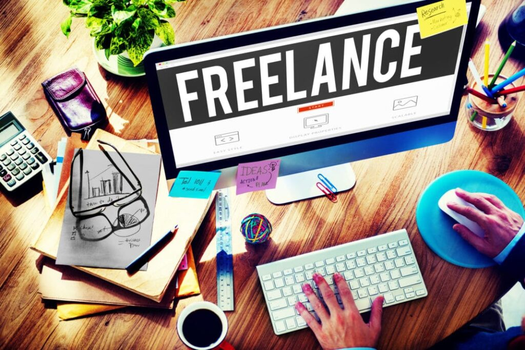 Freelance job Money Crashers How to Become a Freelancer - Types of Work, Pros & Cons