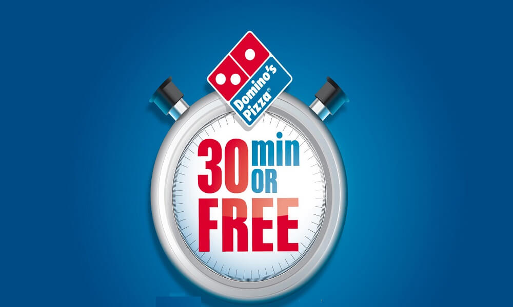 dominos Offer 30 Minutes Or Free Pizza