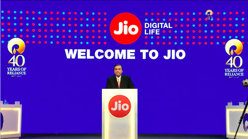 reliance agm welcome to jio 1500630211082
